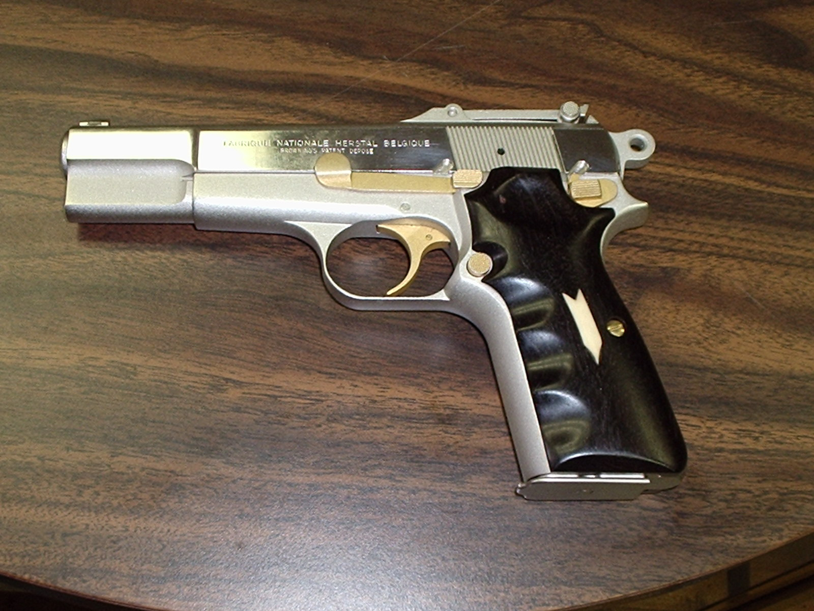 Custom Browning Hi Power 9mm Parabellum By PSMG Gun Company
