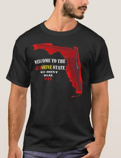 Welcome to the                             Gunshine State T-Shirt