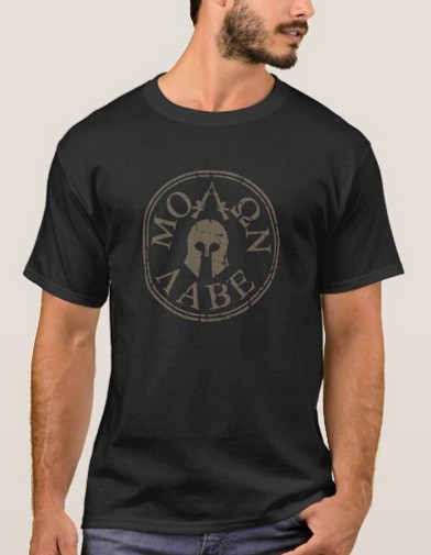 Molon Labe,                             Come                             and Take Them T-Shirt
