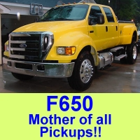 f650 pickup trucks and suvs