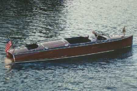 classic wooden runabout - made to order