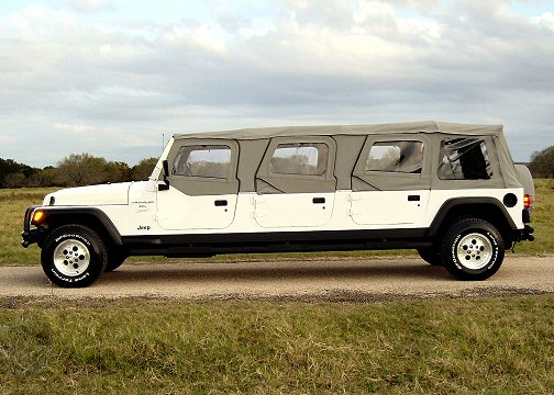 Limo Jeep Wrangler 6 Door