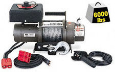 WINCH WARN M6000 SDP-PORTABLE
