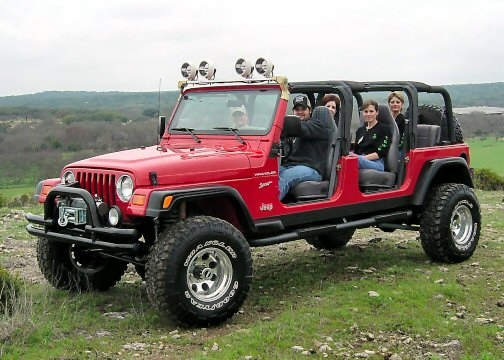 stretch jeep 