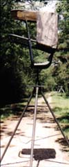 tripod deer hunting stand - lightweight                   and portable