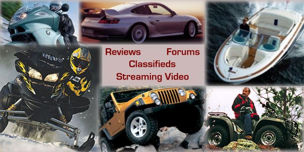 reviews, profiles, forums and streaming video